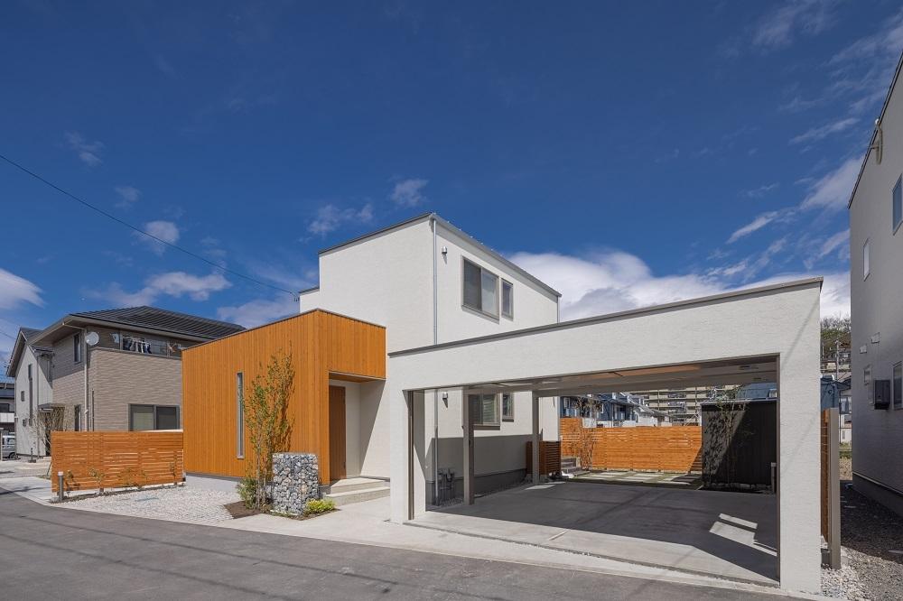 ガーデン工事完了! 松本市新築もうすぐOPEN!